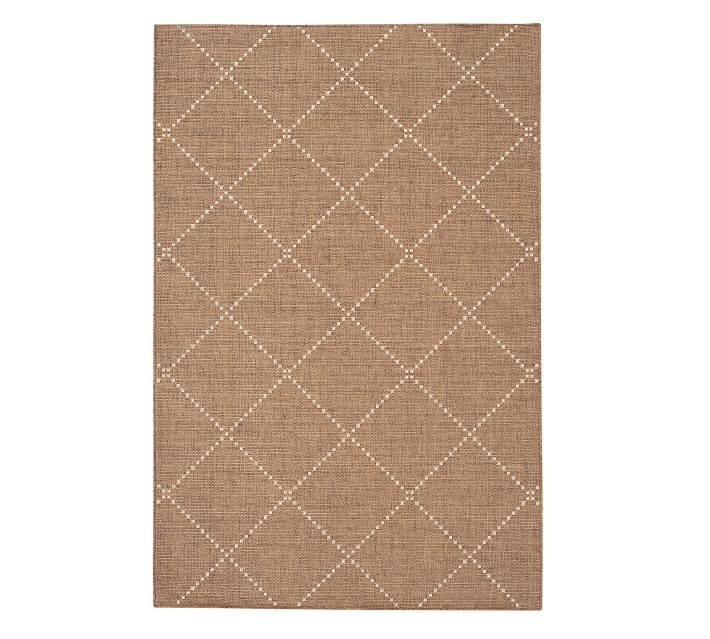 Joey Synthetic Rug 5 X 8 Earth Natural Neutral Brown