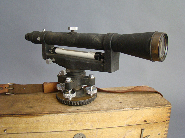Vintage Surveyor S Transit Vintage Survey Equipment Path