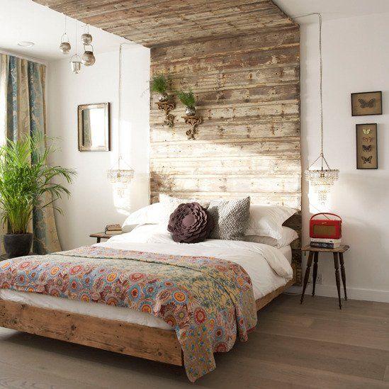 Crazy Chic Design Modern Boho Basement: Modern Rustic Bedroom. Seems So Simple.