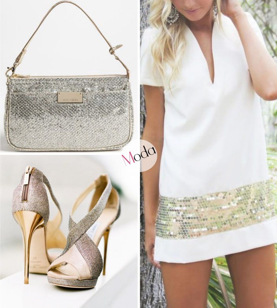 Moda - Blanco y brillante