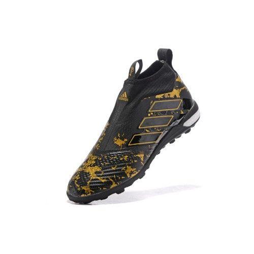 low priced 2468d 91a64 Comprar Adidas ACE Tango 17 Purecontrol TF Negro Oro Botas De Futbol