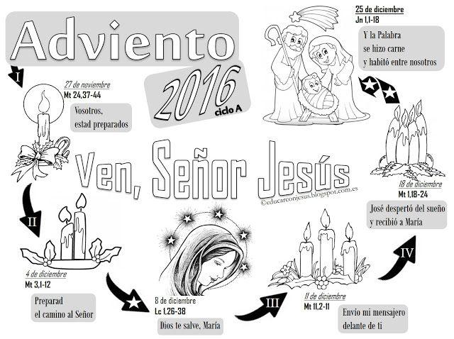 Blog del Profesorado de Religión Católica: Calendarios Adviento 2016 ...