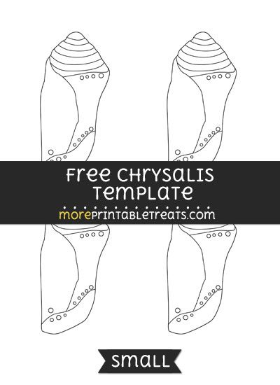 dunce hat template - free chrysalis template small shapes and templates