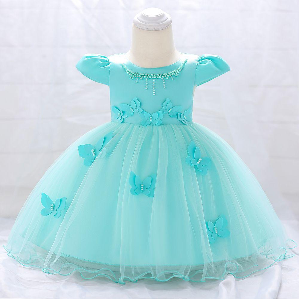 361fce13ca851 Retail Baby Girl Newborn Dress For 1 Year Birthday Party Dress Baby ...