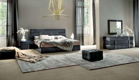 Soprano 5 Piece Queen Bedroom Set From Huffman Koos