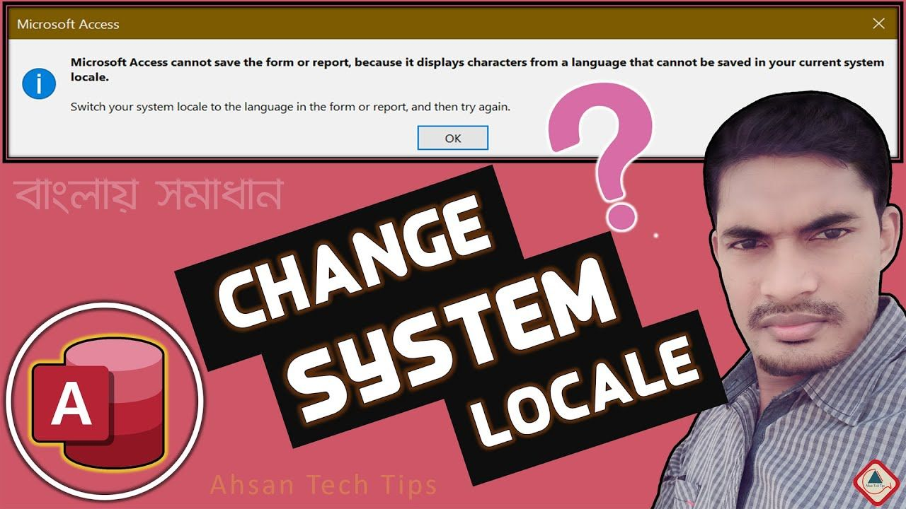 How To Change System Locale Language In Bangla Ahsan Tech Tips