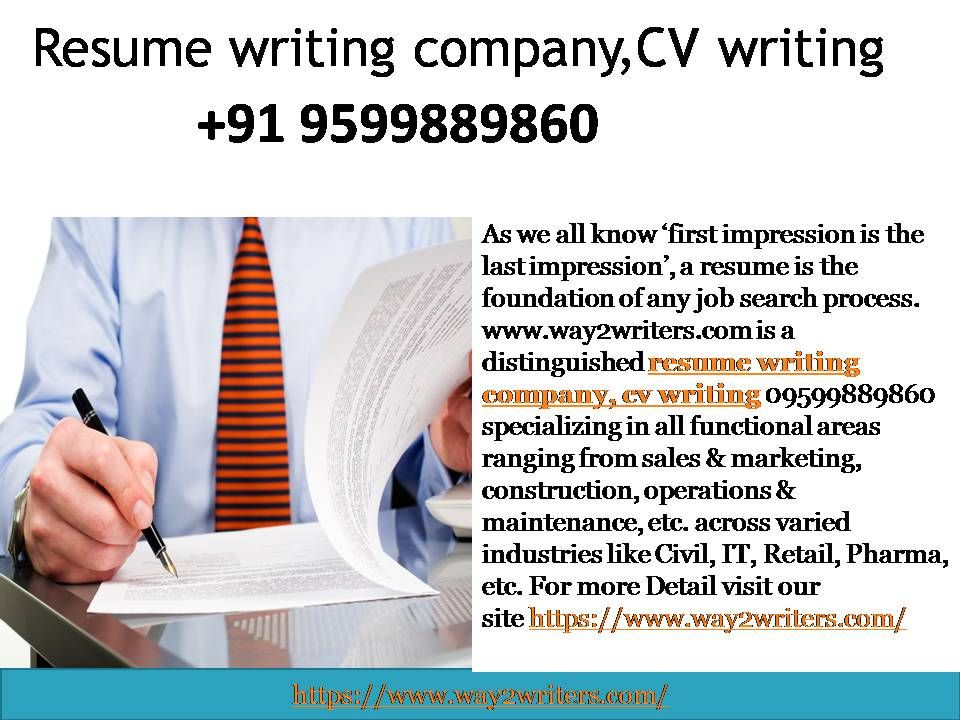 What is the best CV Writing Company in India 09599889860