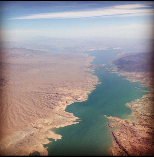 The Colorado River near Lake Mead, NV