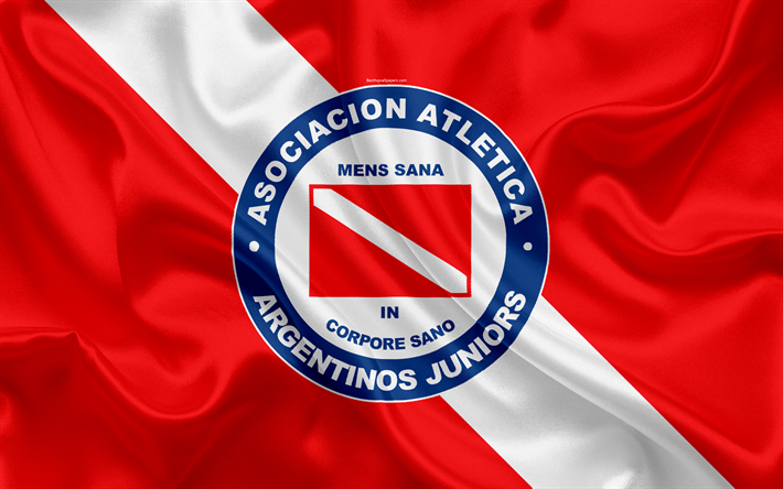 Download wallpapers Argentinos Juniors, 4k, Argentinian