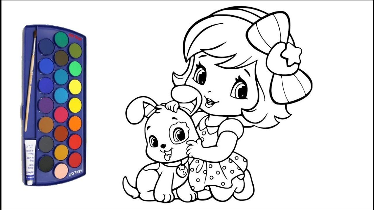 Drawing And Coloring Pages For Kids Gambar