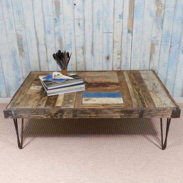 Treibholz Tisch Wohnzimmertisch Selber Bauen Niedrig