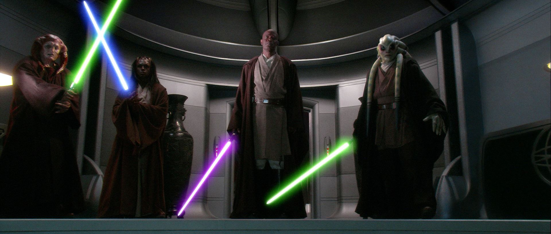 Image result for episode 3 revenge of the sith under arrest