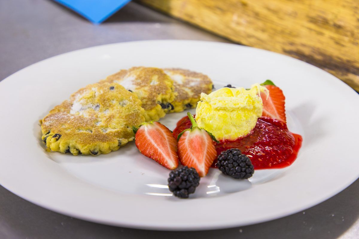 Welsh Cakes with Berries | James Martin Chef | James ...
