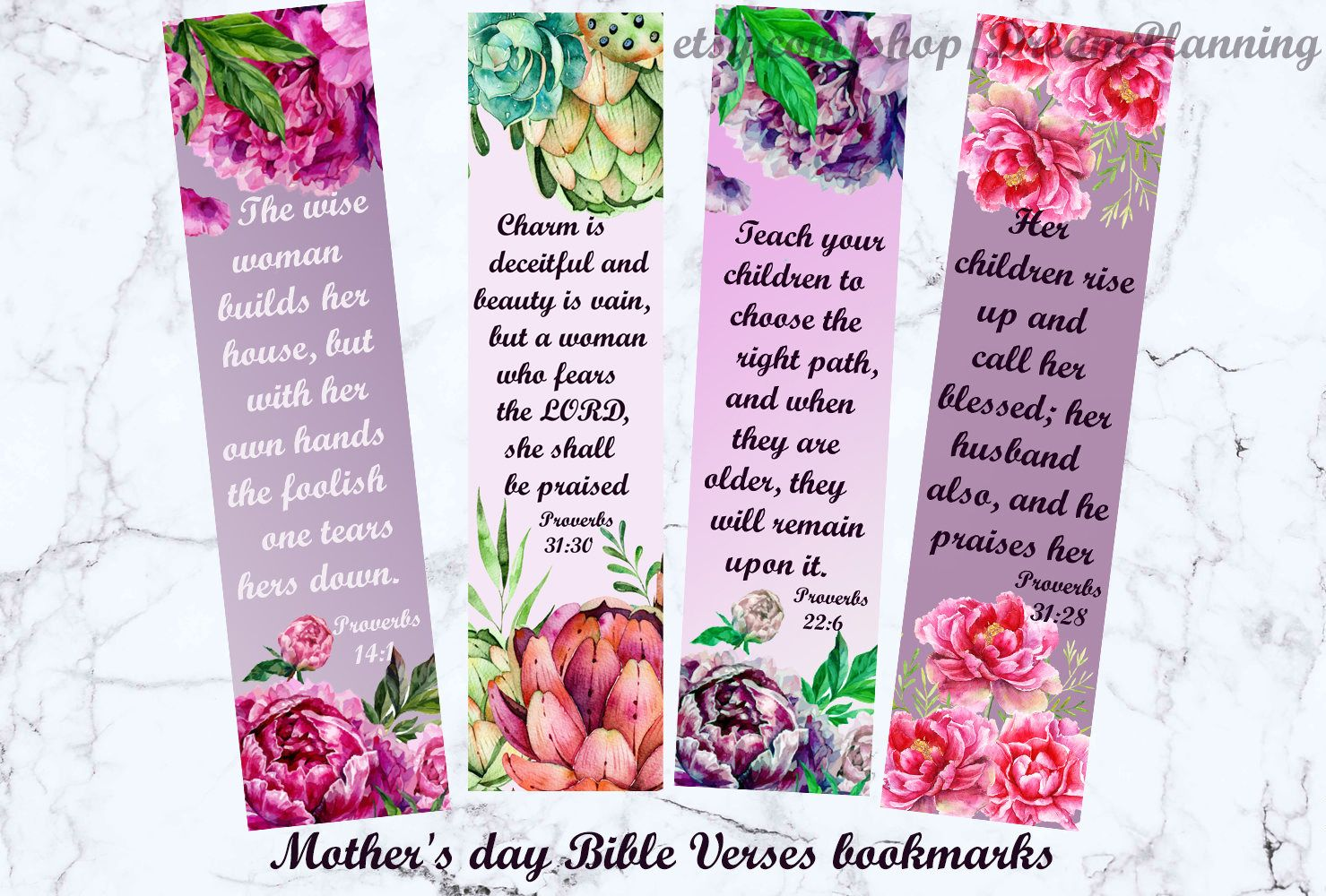 mother's day bible verses bookmarks christian mother day bible