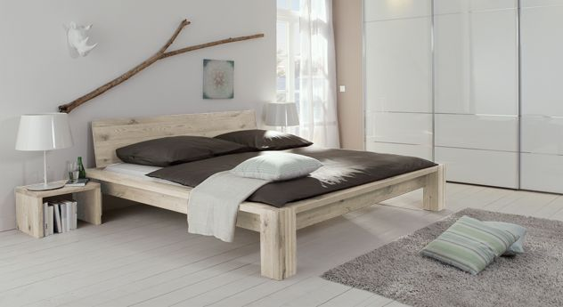 Bett Perugia Eichenbetten Bett Modern Und Echtholz Mobel