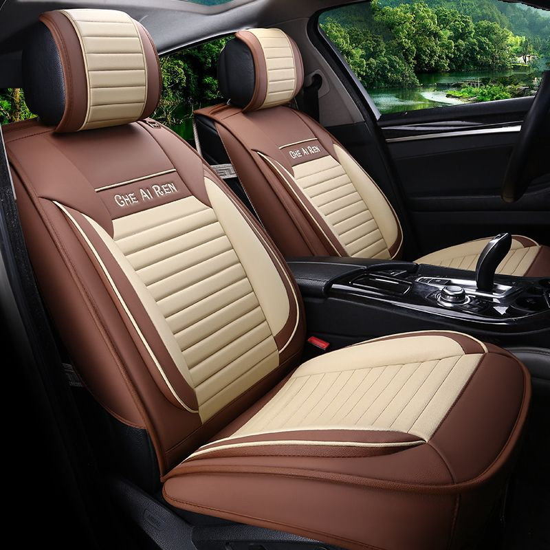 Car Styling Leather Seat Covers For Chevrolet Malibu Xl Cruze Liftback Sail 3 Captiva Trax Seat Cushion Leather Seat Covers Seat Protector Interior Accessories