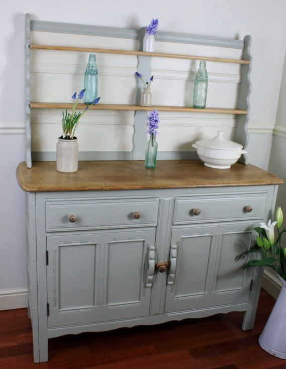 Vintage Ercol Painted And Waxed Welsh Dresser By Restored2bloved 28000