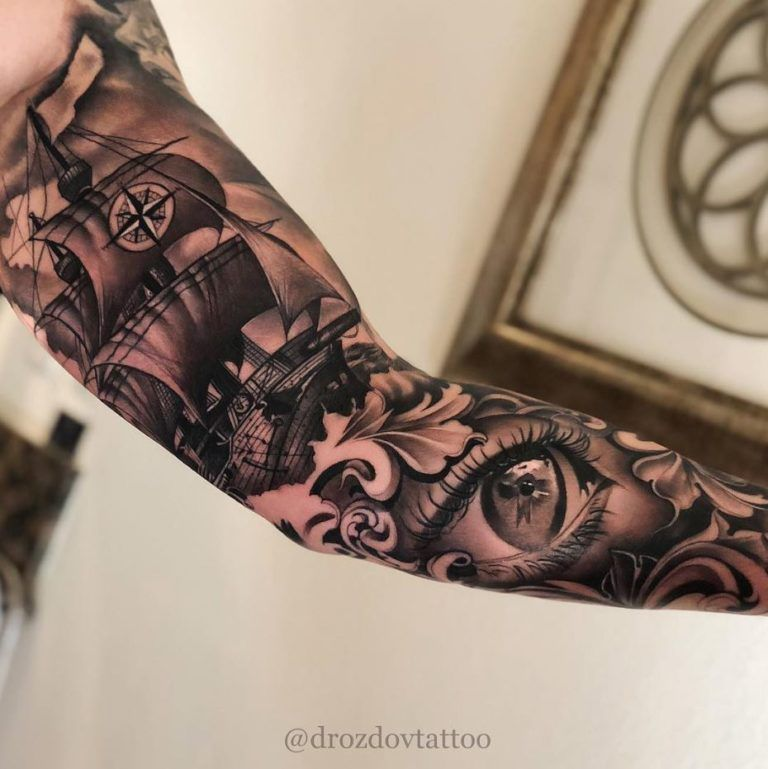 The Best Sleeve Tattoos Of All Time Thetatt In 2020 Best Sleeve Tattoos Sleeve Tattoos Tattoos For Guys