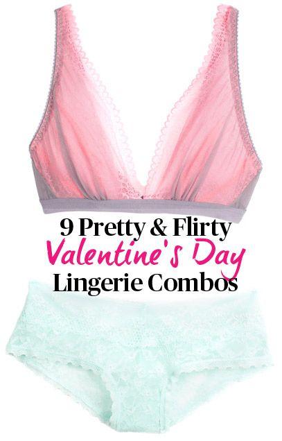 9 sexy valentines day bra and panties combos - Valentine Panties