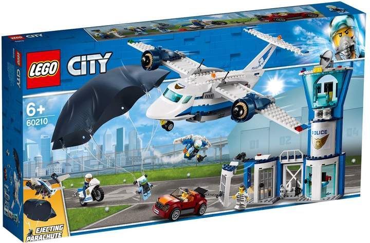 Lego Sky Police Air Base Lego City Lego Police Lego City Police