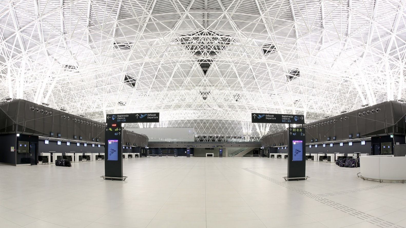Gallery Of Zagreb Airport Kincl Neidhardt Institut Igh 8 Zagreb Airport Architecture Today