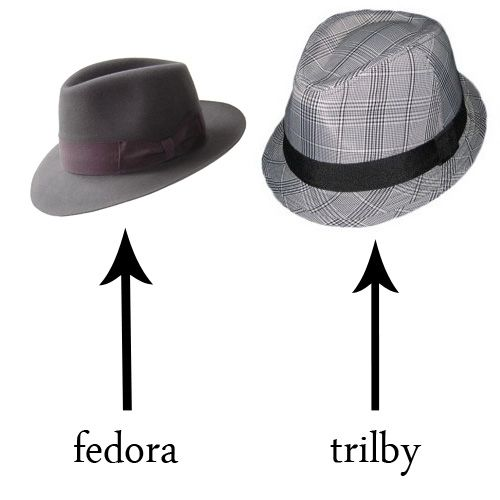 fedora vs trilby hat Yup - I ve been wearing a trilby and calling it a  fedora c3f4abdfdfc