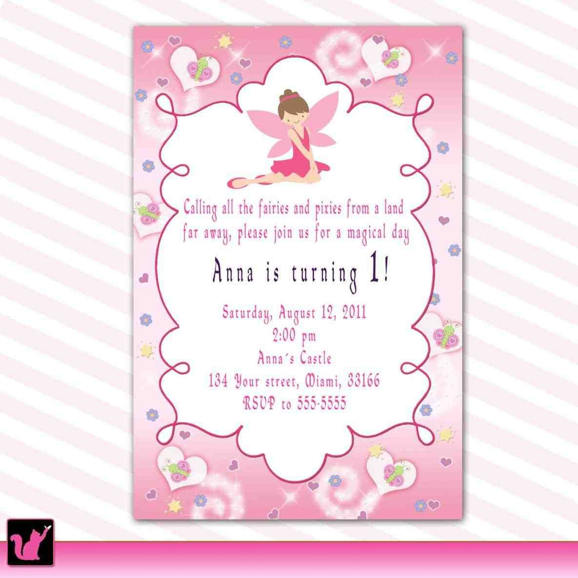 Full Size Of Template Elegant Butterfly Fairy Birthday Invitations