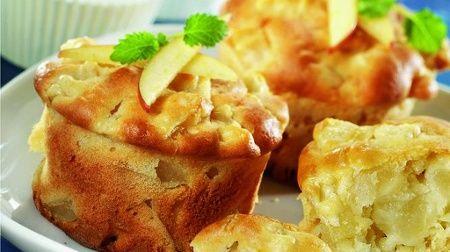 Feine Apfel-Muffins #apfelmuffinsrezepte