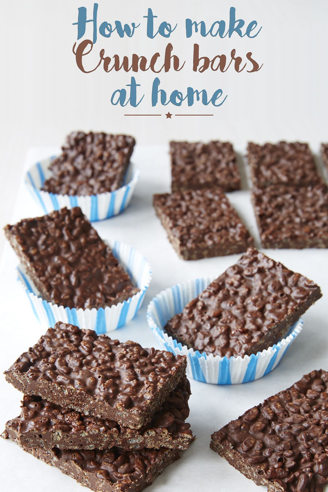 Photo of Make a healthy chocolate Crunch bar with just two ingredients!