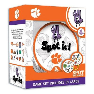 NCAA Clemson Tigers Spot It Game in 2020 | Uno card game ...