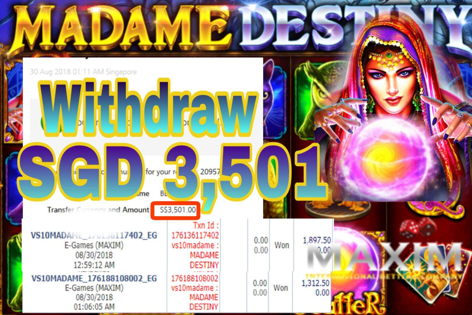 Spiele Madame Destiny - Video Slots Online