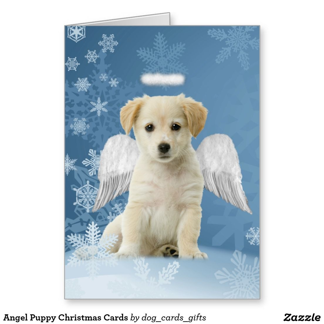 Angel Puppy Christmas Cards | Puppy and Kitty Christmas Cards ...