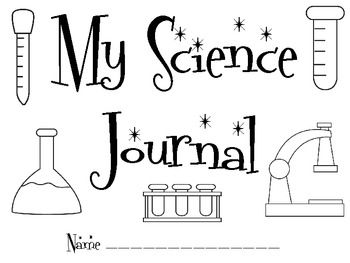 My Science Journal Pages, for use with ANY type of