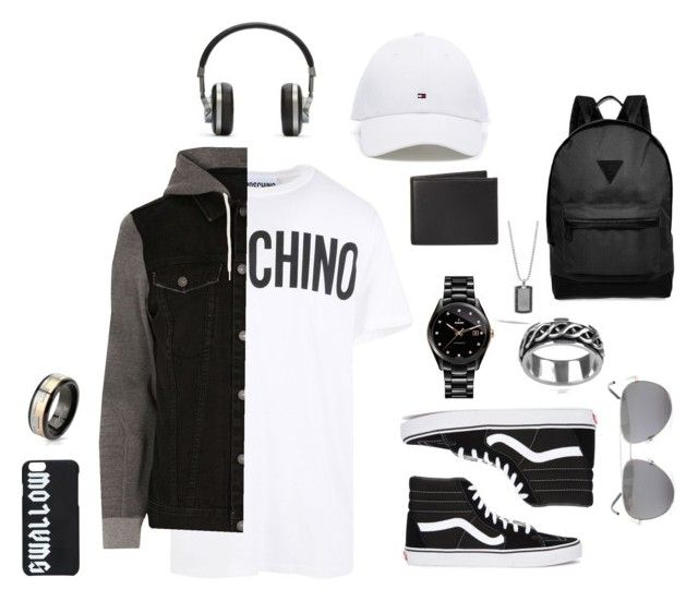 """""""What my bro should wear😂"""" by tho0134 on Polyvore featuring Moschino, River Island, Vans, Rado, Vance Co., John Hardy, The Men's Store, Yves Saint Laurent, McQ by Alexander McQueen and Master & Dynamic"""