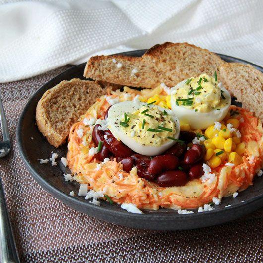 Idée de repas frais pour l'été et super rapide ! #repasfacile #idee #recette   Repas frais ...