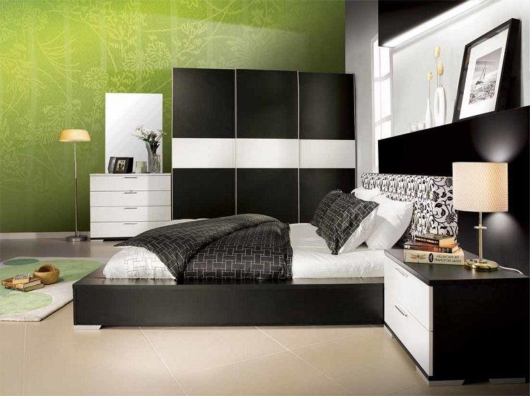 come-pitturare-casa-camera-da-letto-verdi | Come pitturare casa ...