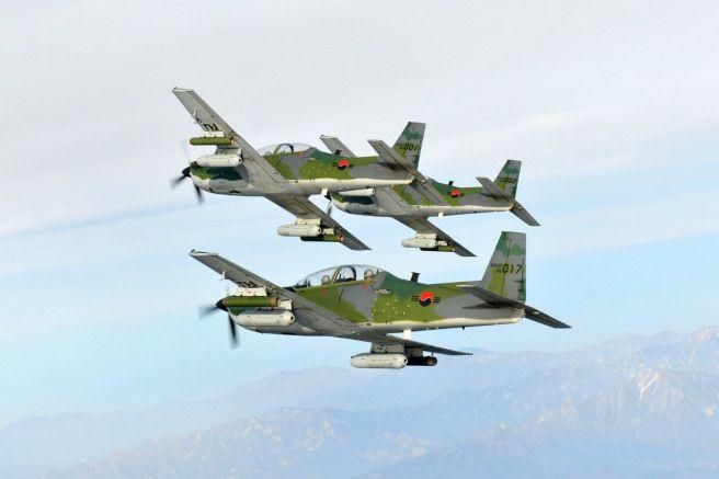 Kai Ka 1 Woongbi Light Attack Aircraft Metal Birds Kai Fighter Jets