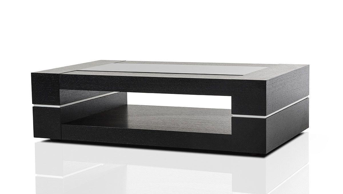 Best Modrest Mesa Modern Black Oak Coffee Table Oak Coffee 640 x 480