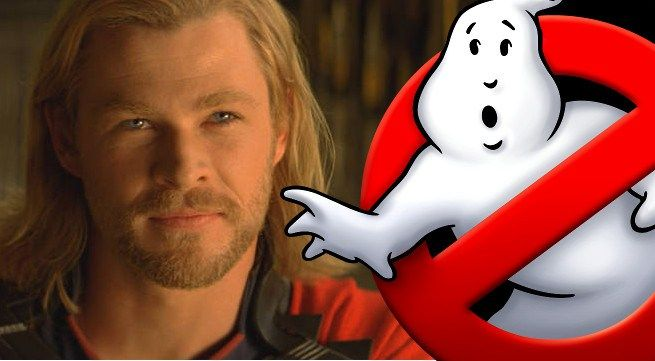Who You Gonna Call? Chris Hemsworth! - http://fandemoniumnetwork.com/gonna-call-chris-hemsworth/