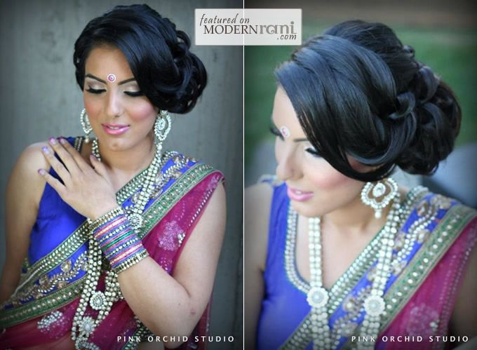 Asian Bridal Hairstyle : Pink orchid studio: bridal hairstyles part one modernrani