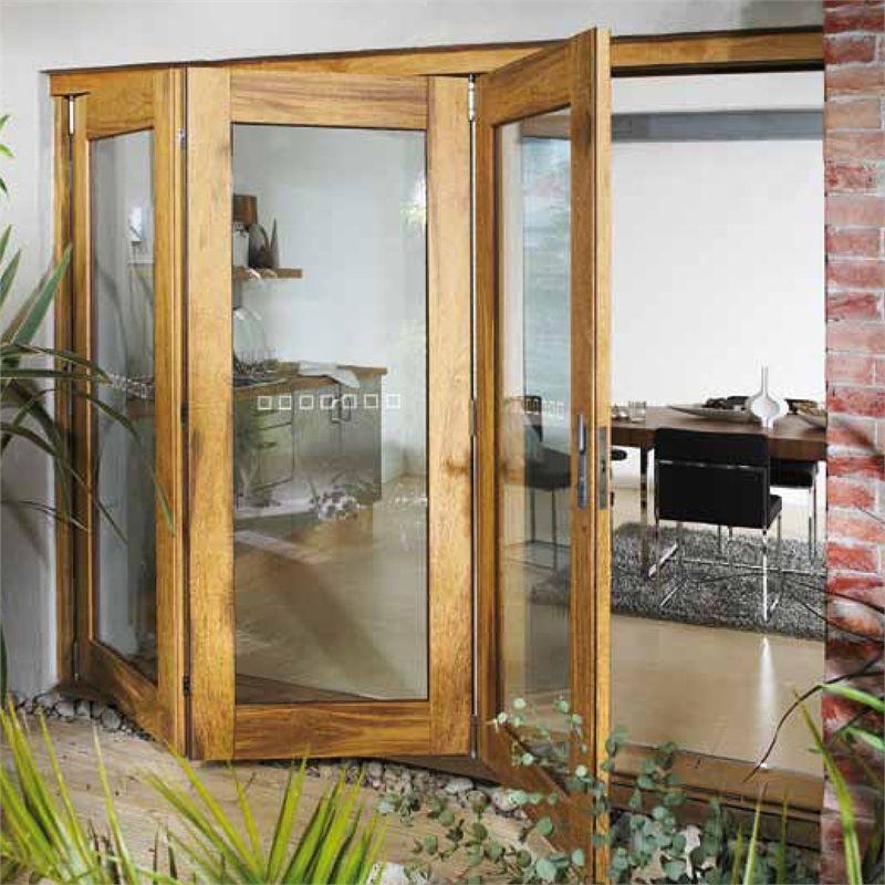 Corinthian Doors 2040 X 720 X 40 External Trifold Door Unit Lh Wingc 21 Bunnings External Doors Exterior Patio Doors French Doors Exterior