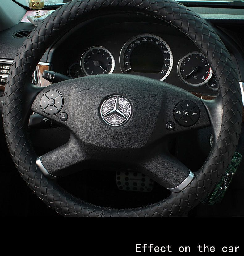 Mercedes benz diamond steer wheel center diamond for Mercedes benz steering wheel covers