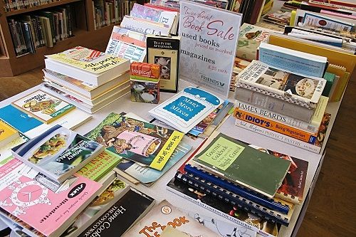 Book Sale In Progress Book Sale Books Used Books