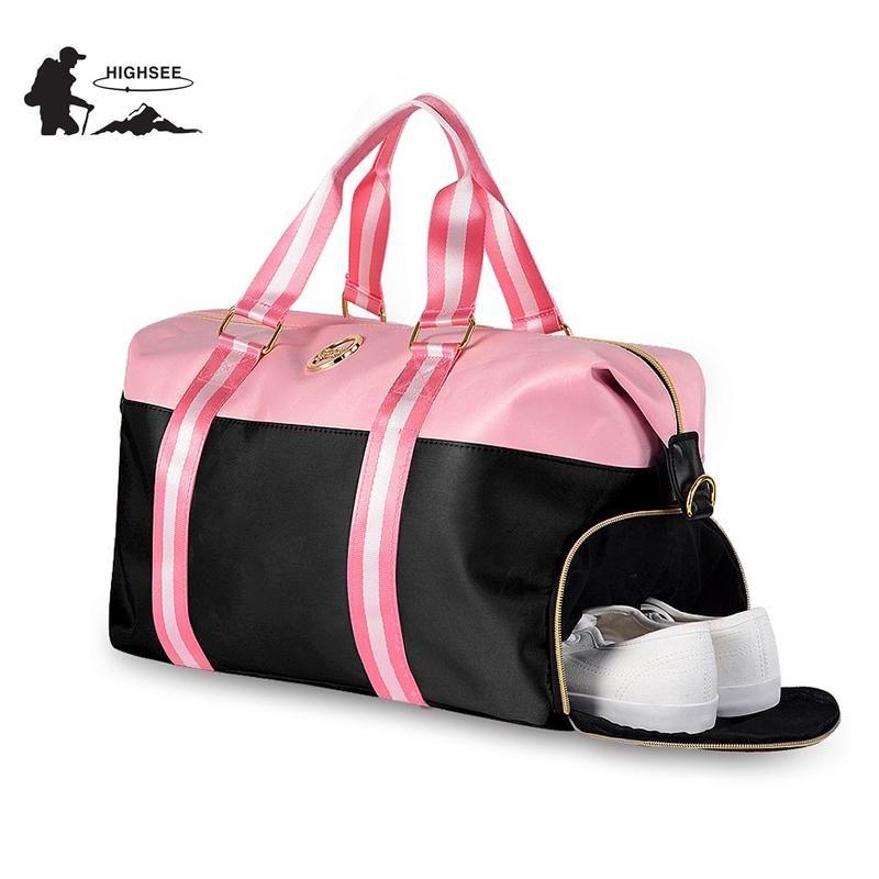 Sports Bags For Fitness Yoga Bags Women Travel Sport Handbag Crossbody  Waterproof Training Gym Bags Shoes Storage Sac De Sport 849354f20c457