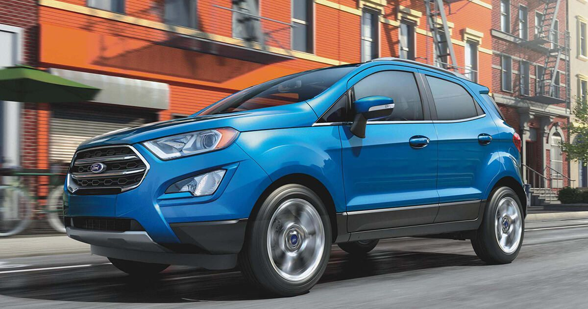 2020 Ford Ecosport Model Overview Pricing Tech And Specs Ford