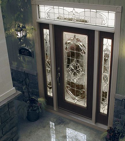 Decorative Glass Insert Available Through Designer Glass Of Wny
