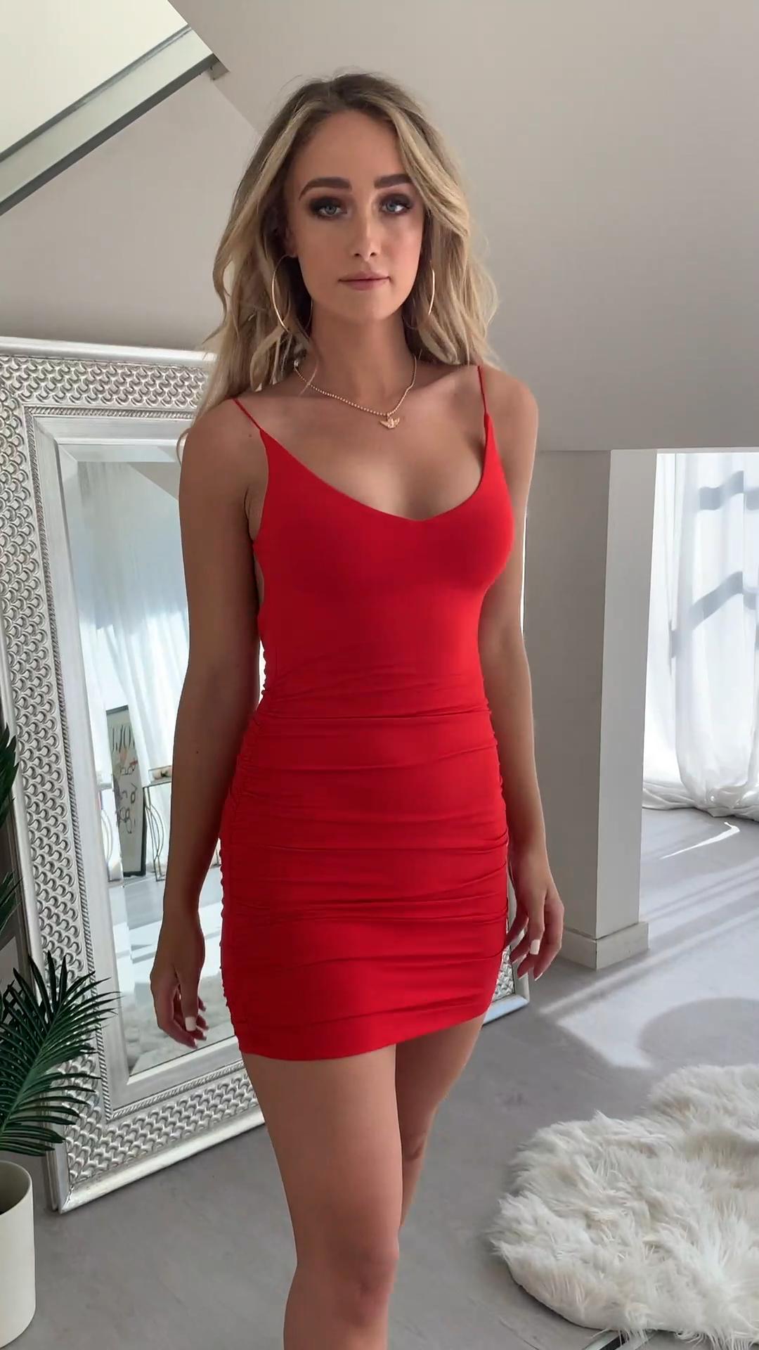 Coco Dress Red -   15 mini dress Tight ideas