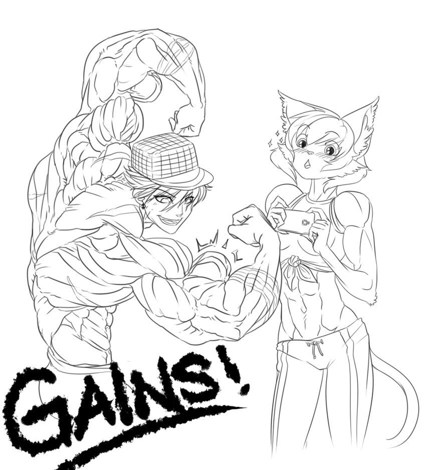 All Kinds of Gains by NewberryChucks | (Male) Anatomy References ...