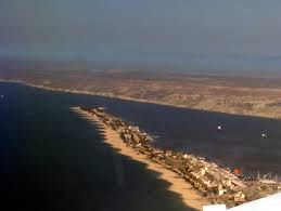 na restinga. Lobito. Angola