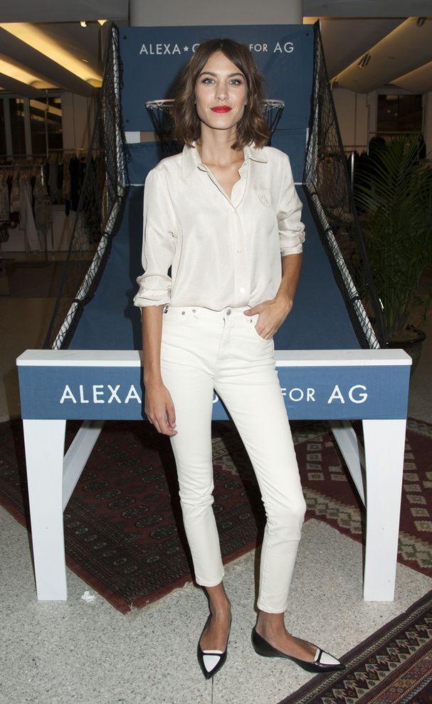 Quel Style Pour Moi morpho : quel jean taille haute pour moi ?   alexa chung, cropped